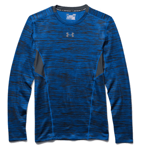 Men s ua coolswitch long sleeve compression shirt for Ua coolswitch compression shirt