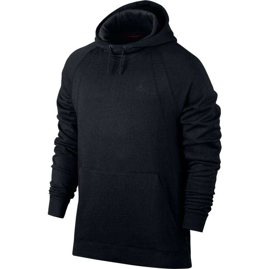 NIke Air Jordan Wings Pullover Hoodie Black Fleece 860200-010 Men/'s NEW