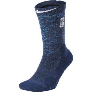 Small Royal Blue//White Nike Elite Versatility Disruptor Crew Basketball Socks