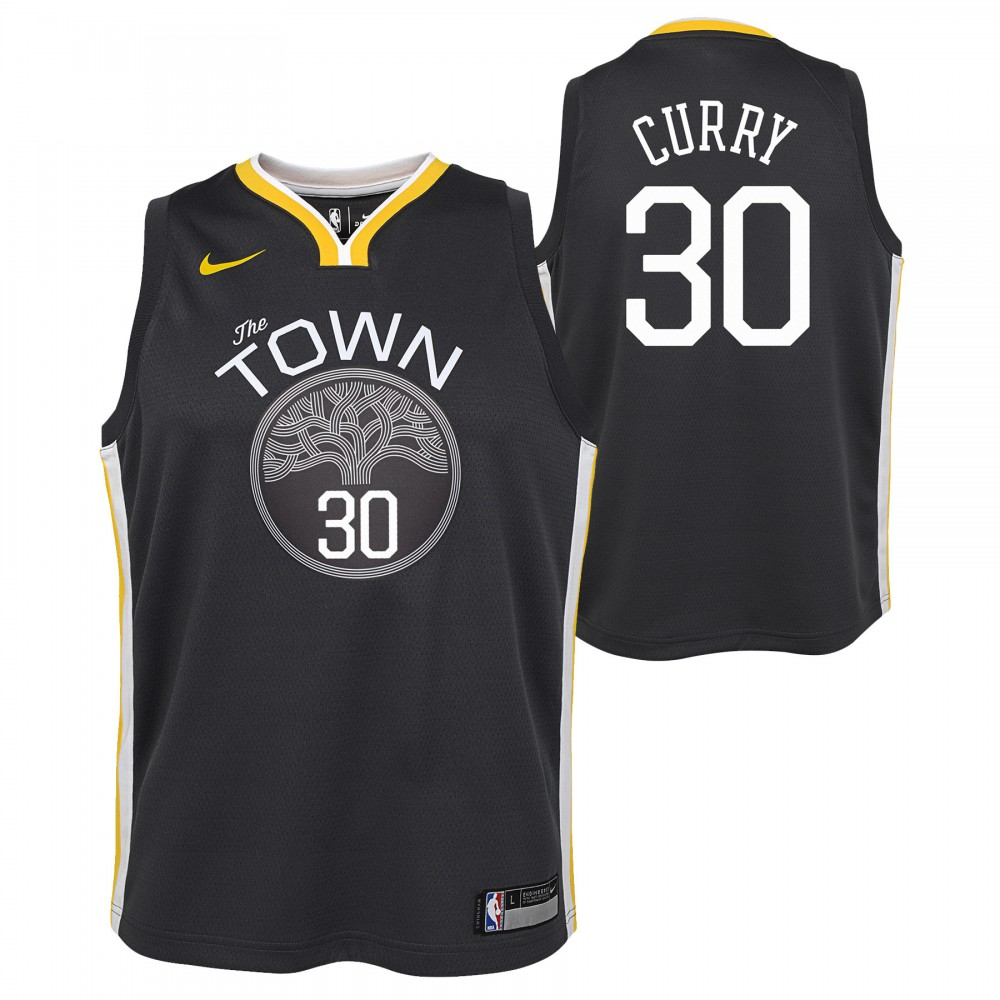 Stephen Curry Maillot Statement Edition GSW Warriors KIDS