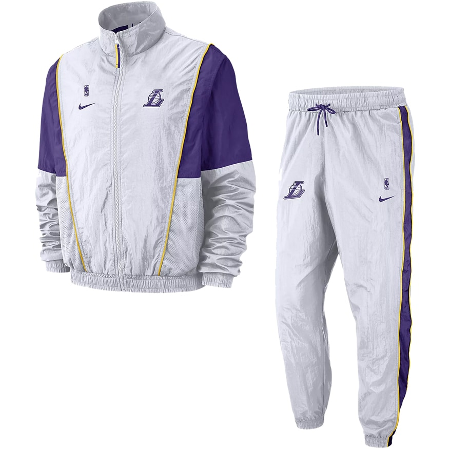 look out for uk store wholesale sales Tracksuit Courtside Nike NBA LA Lakers AH8820-100 | BaskeTTemple
