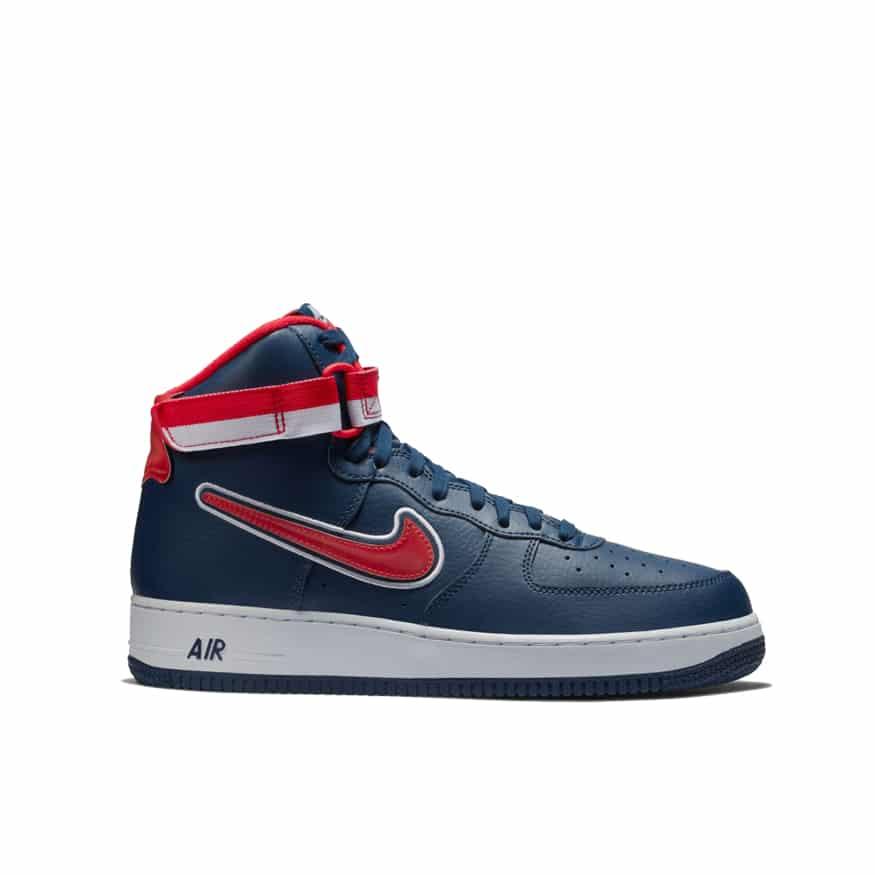 Nike Air Force 1 High Sport NBA AV3938 400 | BaskeTTemple