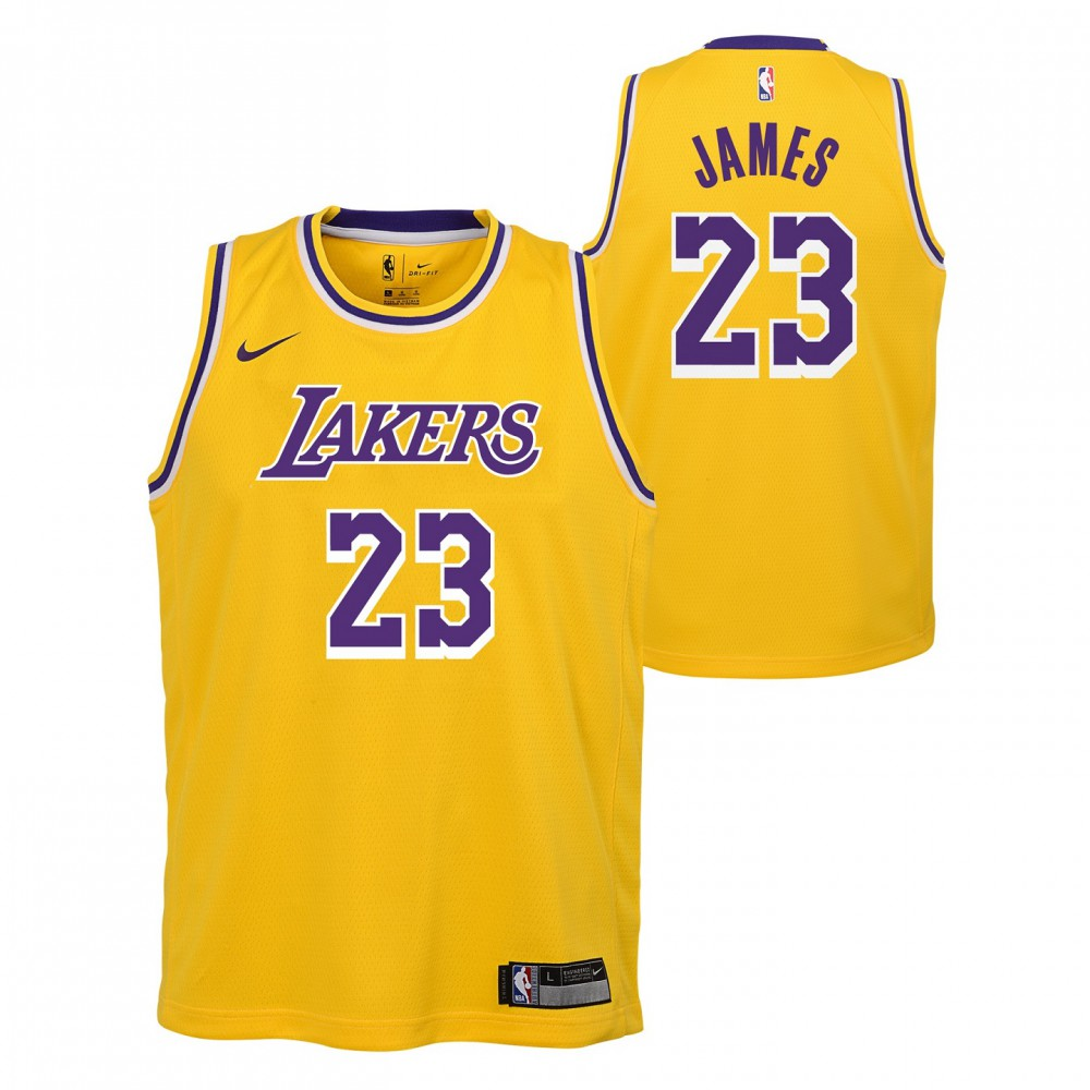 Maillot Nike Icon Edition NBA Kids Lebron James Los Angeles