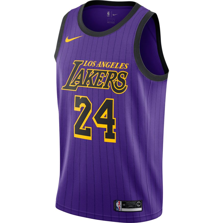Lonzo Ball Maillot Icon Edition Swingman LA Lakers 864423 736