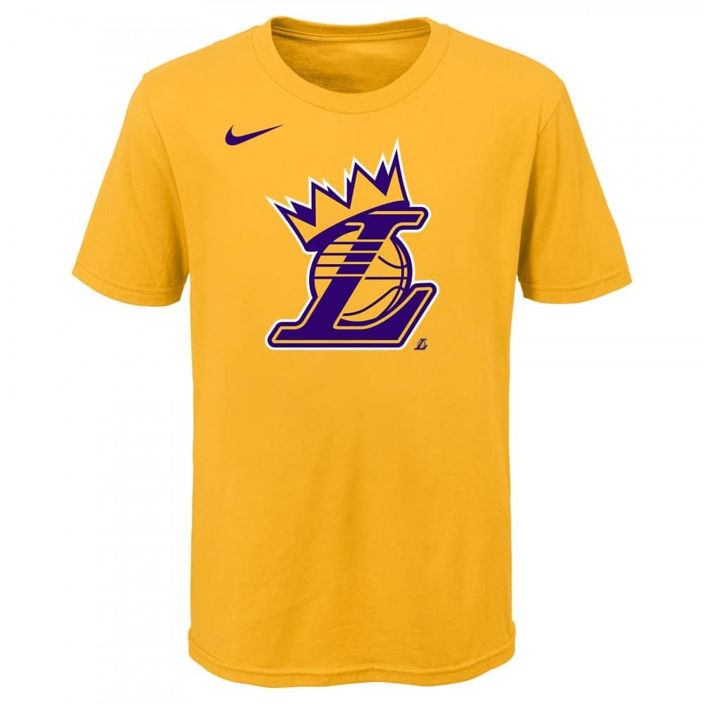 T shirt NBA enfant Lebron Lakers Nike Crown | BaskeTTemple
