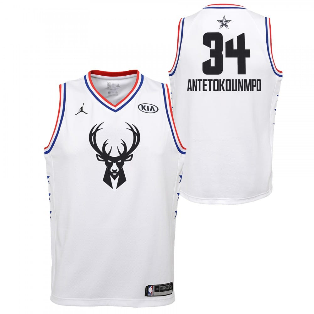 Maillot NBA Giannis Antetokounmpo Jordan All star Edition