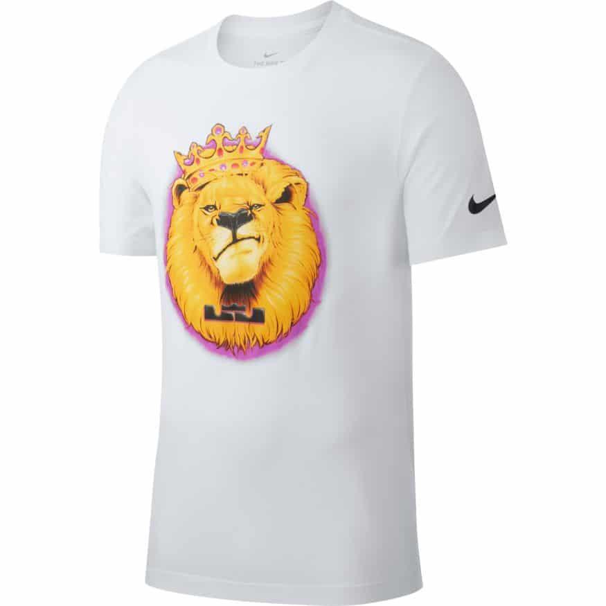 nike lebron james lion t shirt