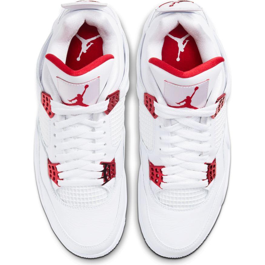 Air Jordan 4 ''Metallic Red'' CT8527 112 Sneaker Style